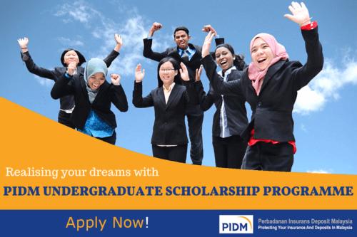 Biasiswa PIDM Undergraduate Scholarship 2020