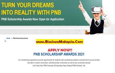 Biasiswa PNB Global Scholarship Award